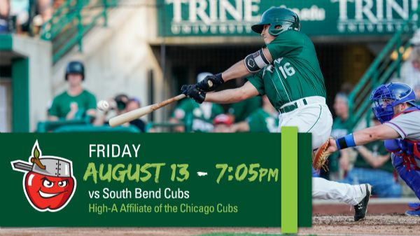 South Bend Cubs | Friday, August 13, 2021 | 7:05  p.m.