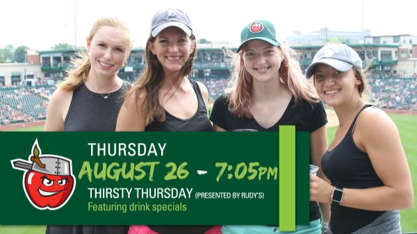 Dayton Dragons   Thursday, August 26, 2021   7:05  p.m.