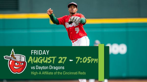 Dayton Dragons   Friday, August 27, 2021   7:05  p.m.