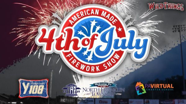 American Made 4th of July Firework Show | Sunday, July 4, 2021 | 4 p.m.