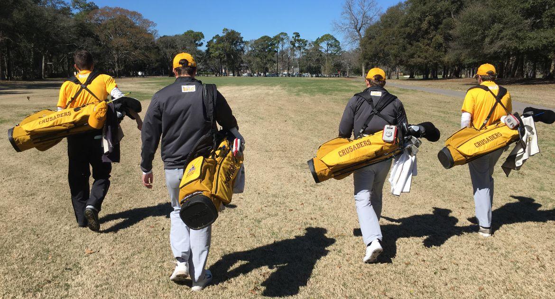 Team Effort Propels Men's Golf to Strong Third Round