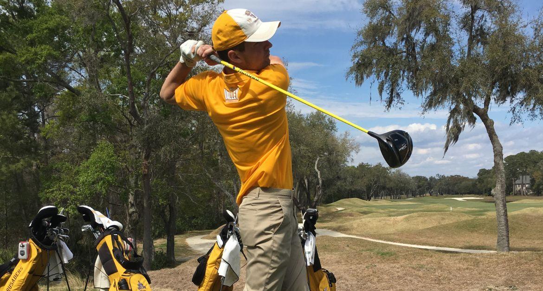 Men's Golf Battles Through Adverse Weather in Final Round of Weibring Intercollegiate