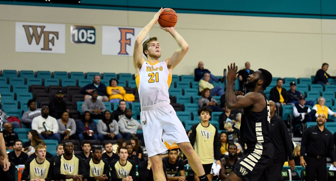 Valpo Drops Narrow Decision to Wake Forest to Close Myrtle Beach Invitational