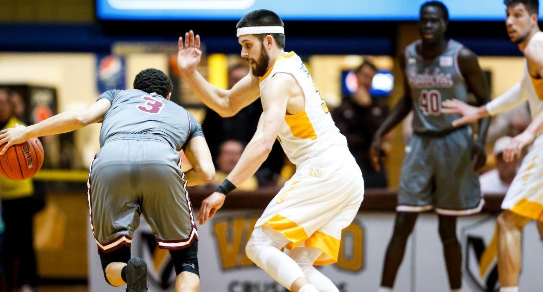 Men's Basketball Begins Final Week of Regular Season at Bradley