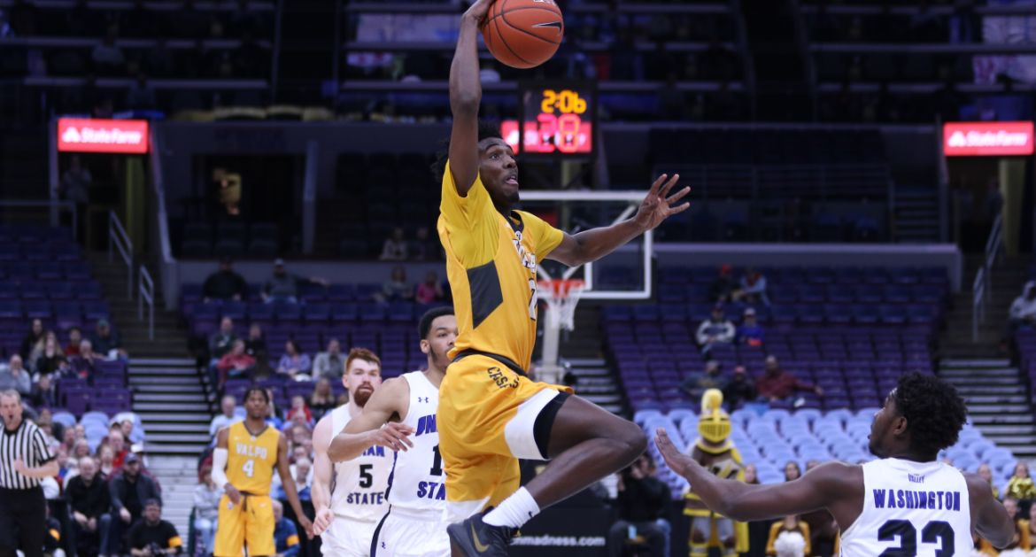 Valpo Pulls Away From Indiana State For Win in Arch Madness Opener