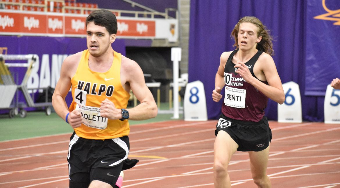 Paoletti Earns All-Conference Honors at MVC Indoor Championships