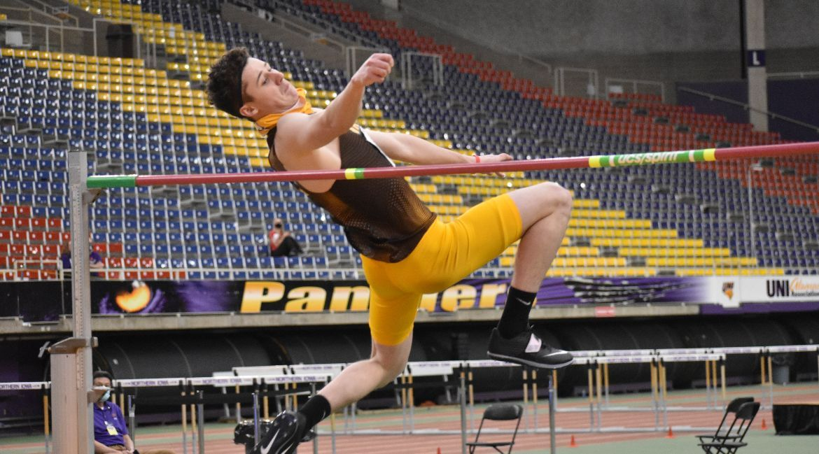 Maidment Wins High Jump, Mikolajczak Climbs in Program Record Book