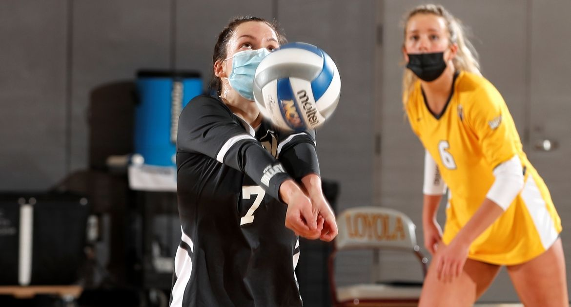Volleyball Claims Key Points In Sweep of Butler