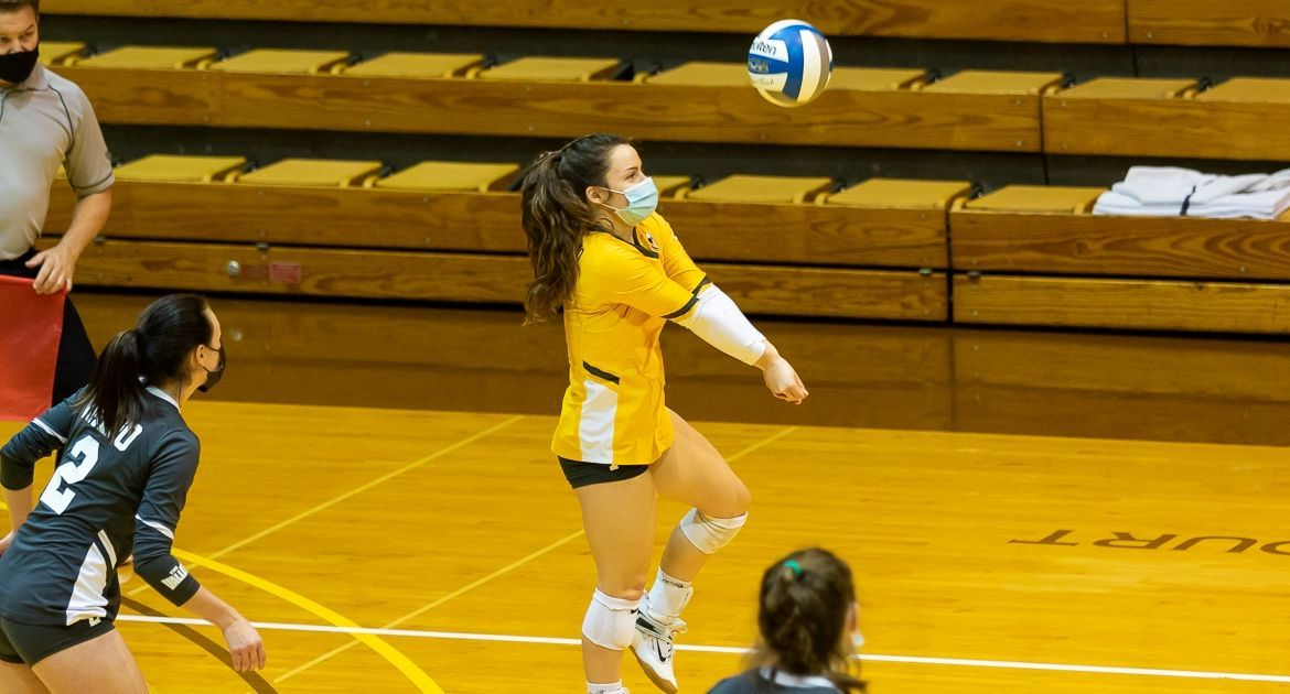 Volleyball Sweeps UNI Monday, Completes Series Victory