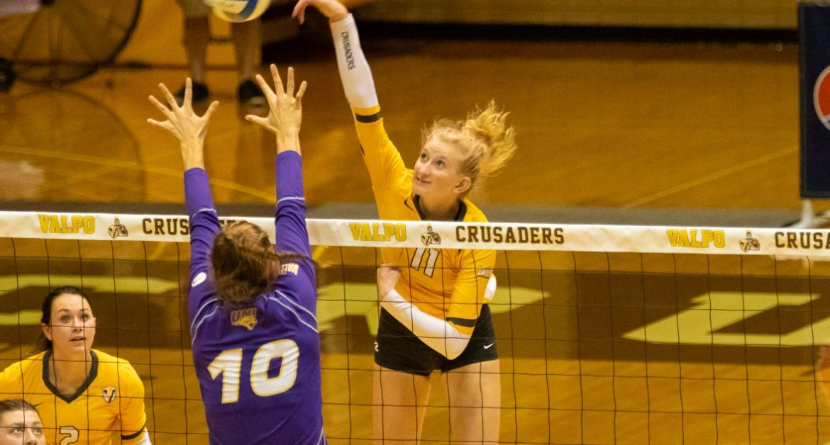 Volleyball Falls in Home Opener to UNI