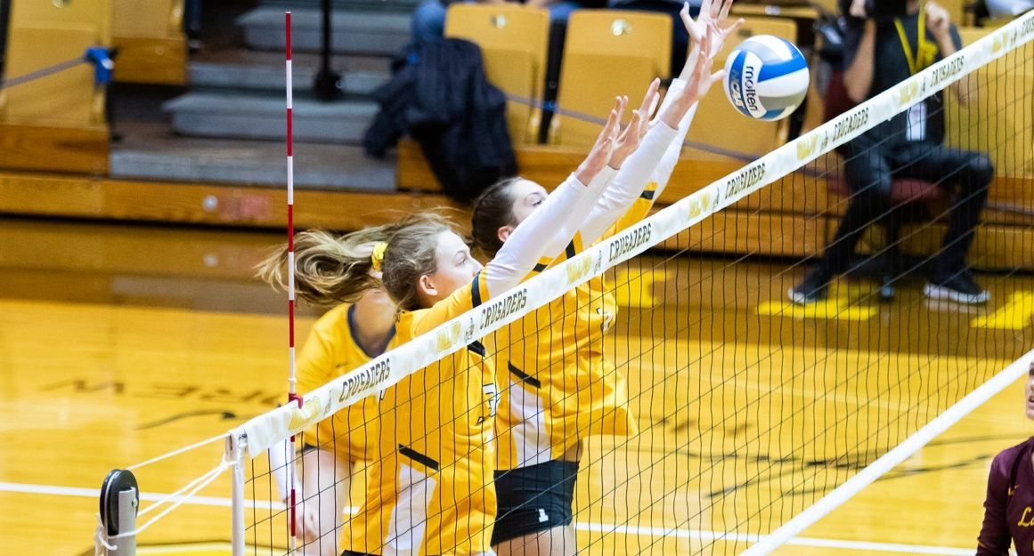 Volleyball Falls to Loyola Friday Evening