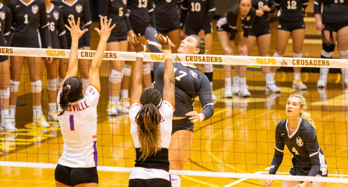McCarthy's Career Night Helps Volleyball to Come-From-Behind Win at SIU