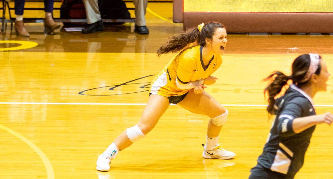 Cookerly Continues Strong Libero Legacy While Excelling Off the Court