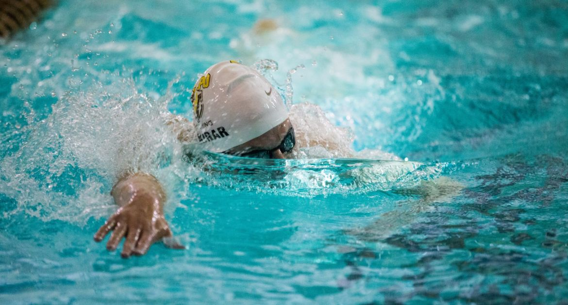 Swimming Battles on the Road Against Eastern Illinois