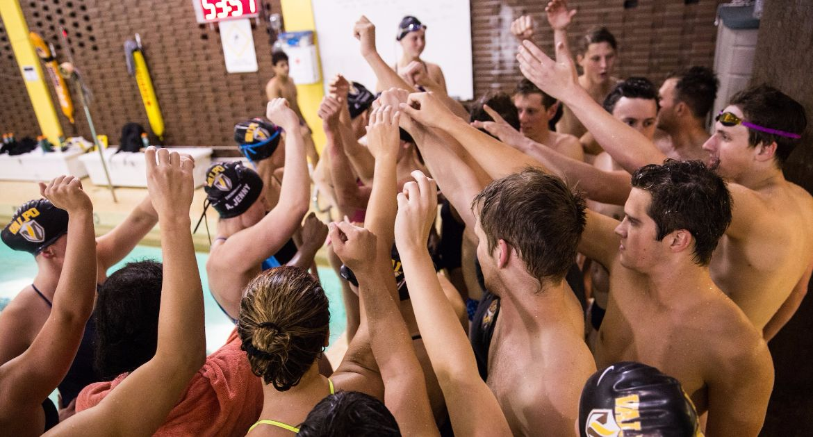 Valpo Swimming Competes Against Saginaw Valley State Saturday