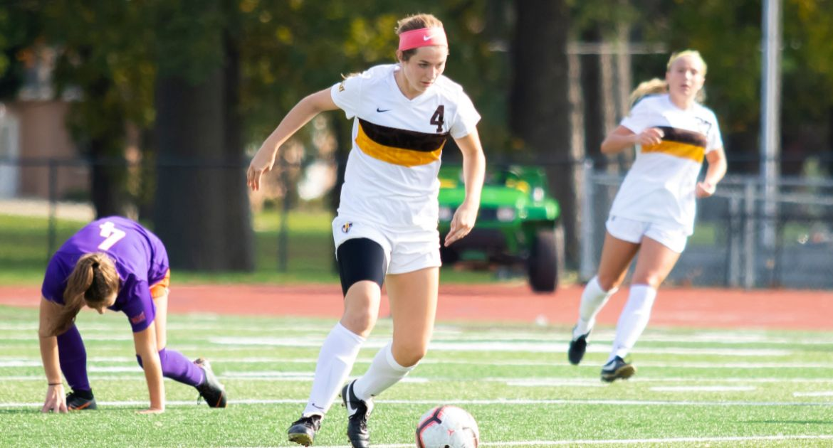 Women's Soccer Drops Final Road Match of Regular Season