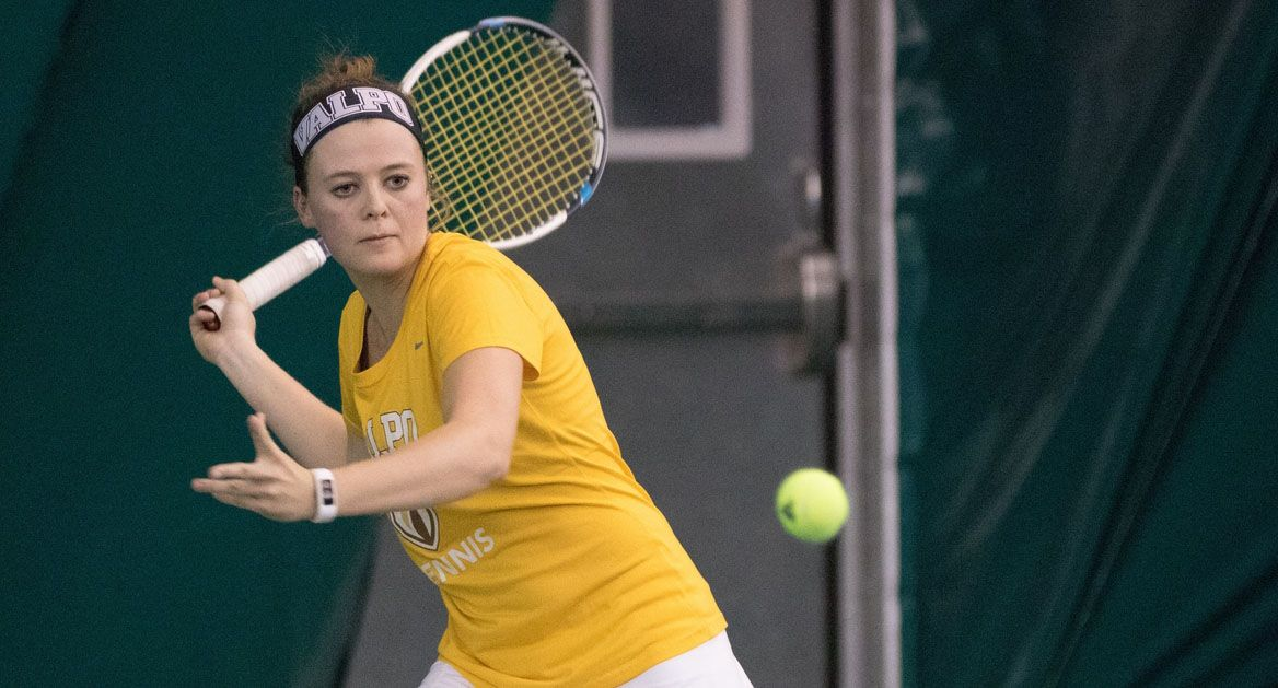 Hebble's First-Round Win Highlights Day 1 of Women's ITA Midwest Regional