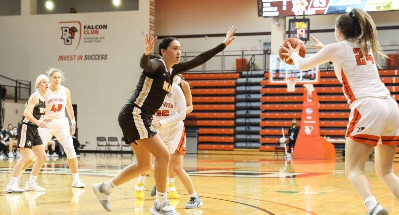 Women's Basketball Drops Season Opener at BGSU
