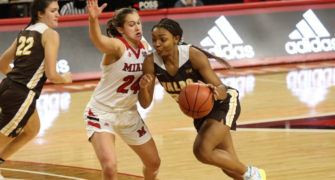 Women's Basketball Falls to Miami (Ohio) Tuesday