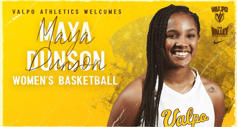 Maya Dunson Joins Valpo Women's Basketball Program