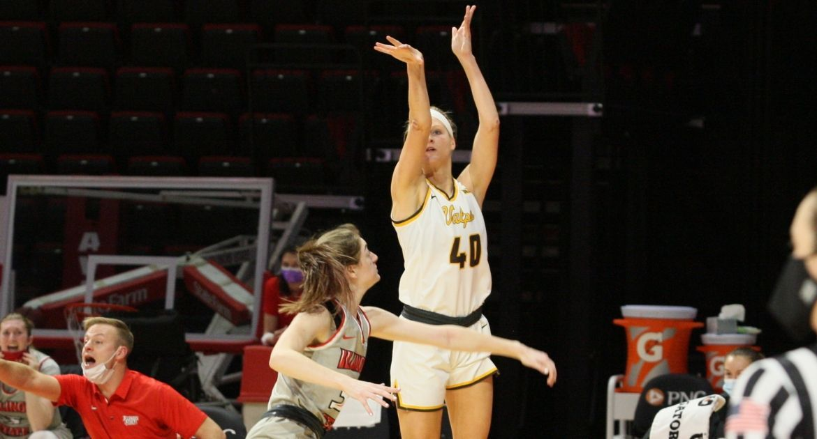 Morrison's Career Night Leads Valpo to Friday Win at Illinois State