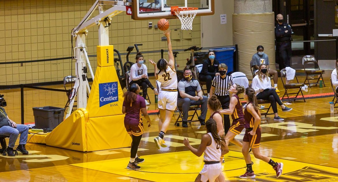 Cold Shooting Results in Loss For Women's Basketball Tuesday