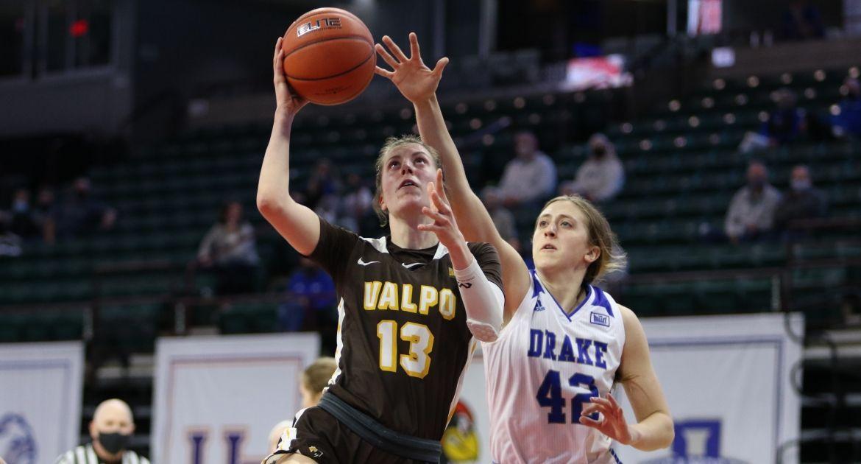 Women's Basketball Drops Battle to Drake in MVC Tournament Quarterfinal