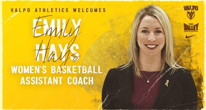 Emily Hays Joins Valpo Women's Basketball Coaching Staff