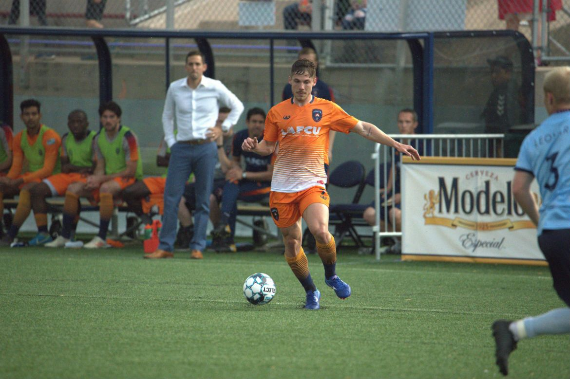 Mentzingen Named USL League One Player of the Month