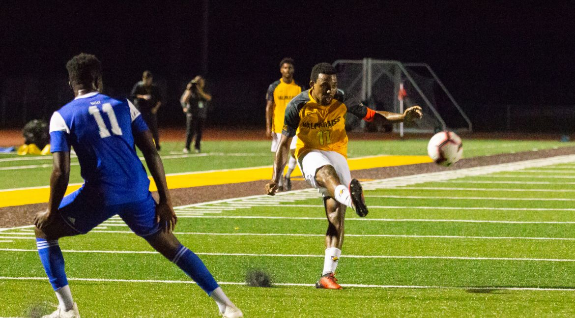 Men's Soccer Drops One-Goal Decision at Bradley