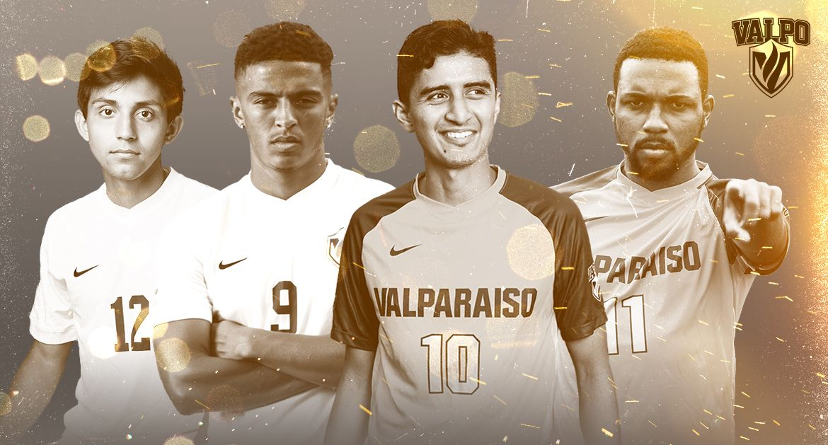 Four Valpo Players Recognized as MVC Releases Men's Soccer Postseason Honors