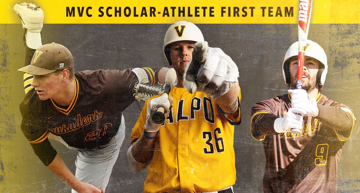 Valpo Baseball Trio Named to MVC Scholar-Athlete First Team