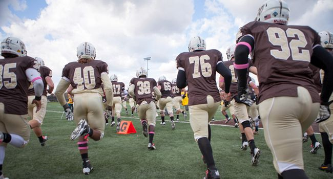 Gold's Goal Line Stand in Final Seconds Highlights Spring Scrimmage