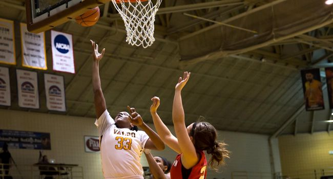 Valpo Drops League Tilt to Wright State