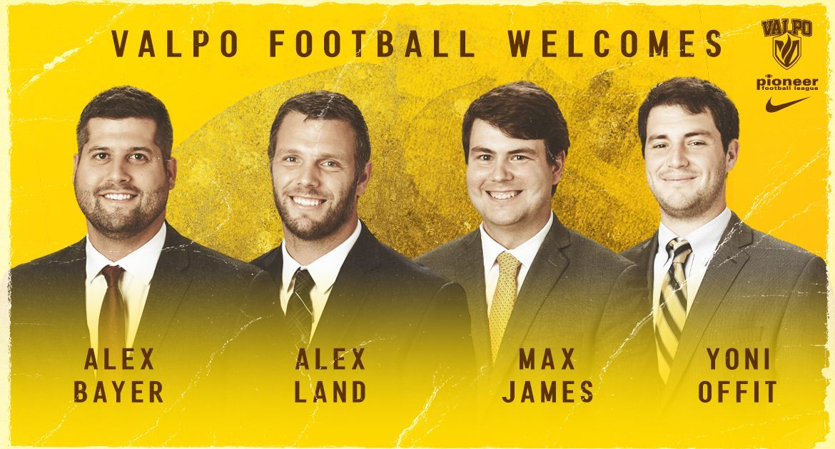 Valpo Football Announces Additions to Coaching Staff