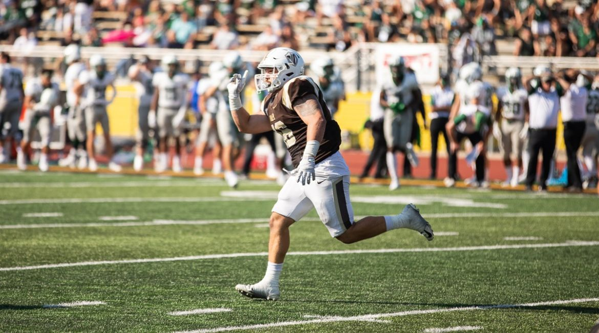 Martins Named College Sports Madness PFL Defensive Player of the Week