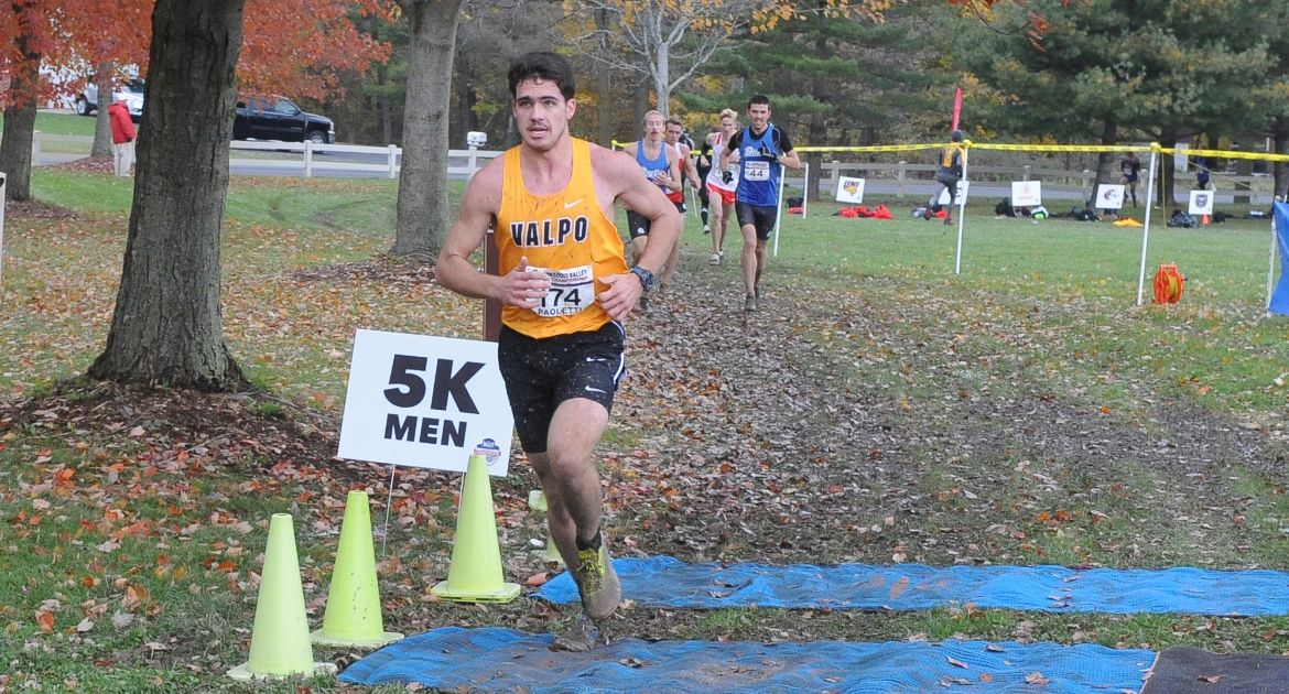 Three Valpo Runners Enter Record Book at Regional