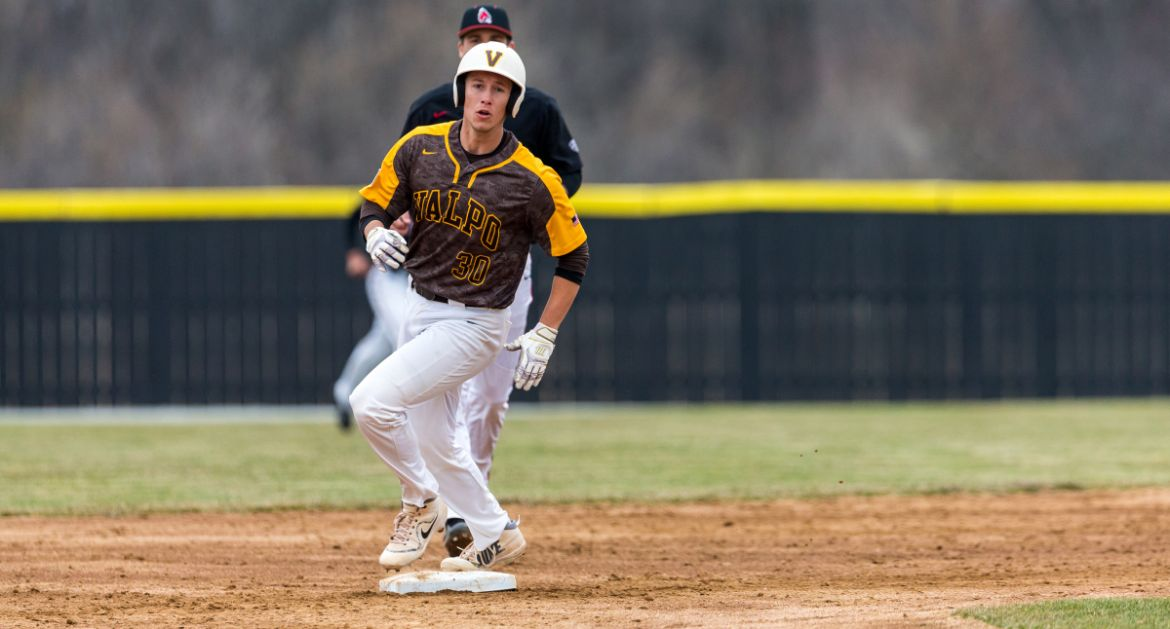 Five-Run Seventh Highlights Home Opener for Crusaders