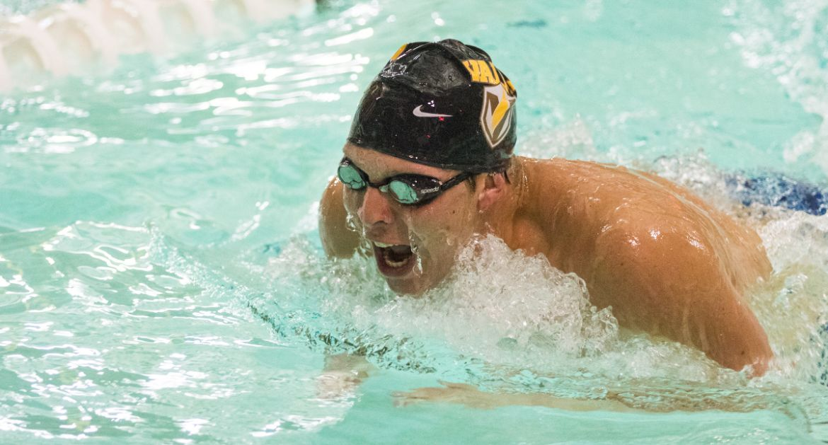 Valpo Swimming Posts Number of Top-10 Times at Conference Championship Meets Thursday