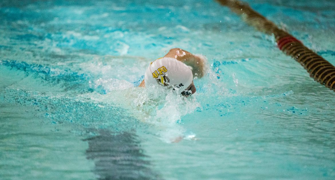 Valpo Men Set Program Record, Women Post Strong Swims on Day One of Conference Championships