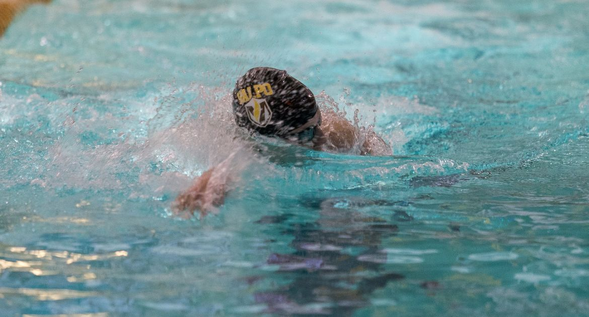 Valpo Swimmers Climb Program Charts on Second Day of Phoenix Fall Classic