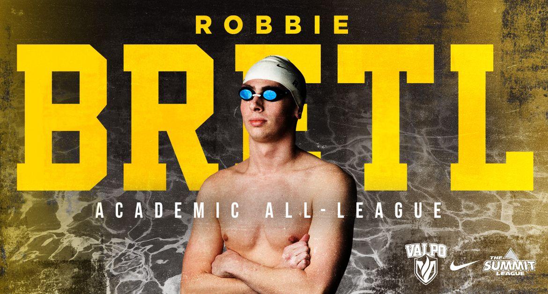 Bretl Repeats as Academic All-League Honoree