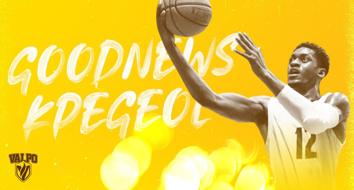 Kpegeol Hungry to Play for Valpo After Unique Journey