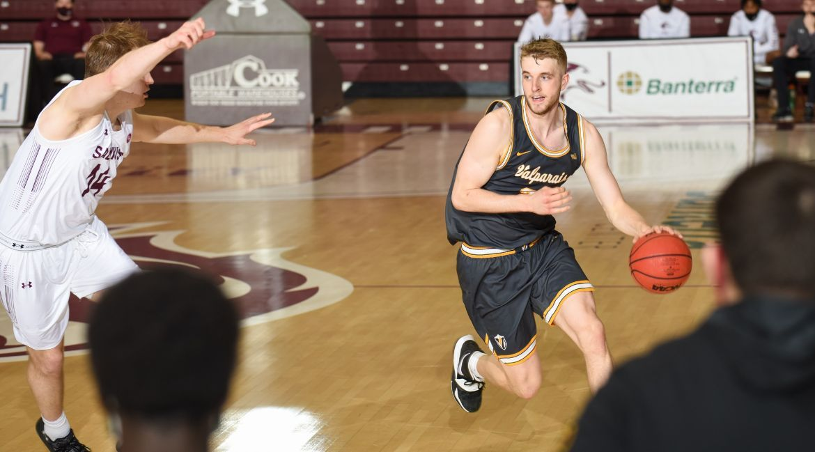 Late Defensive Stops Preserve One-Point Valpo Win at SIU