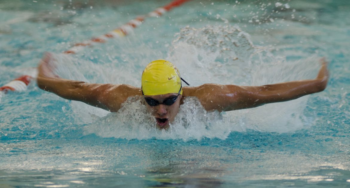 Swimming Drops Duals at Eastern Illinois
