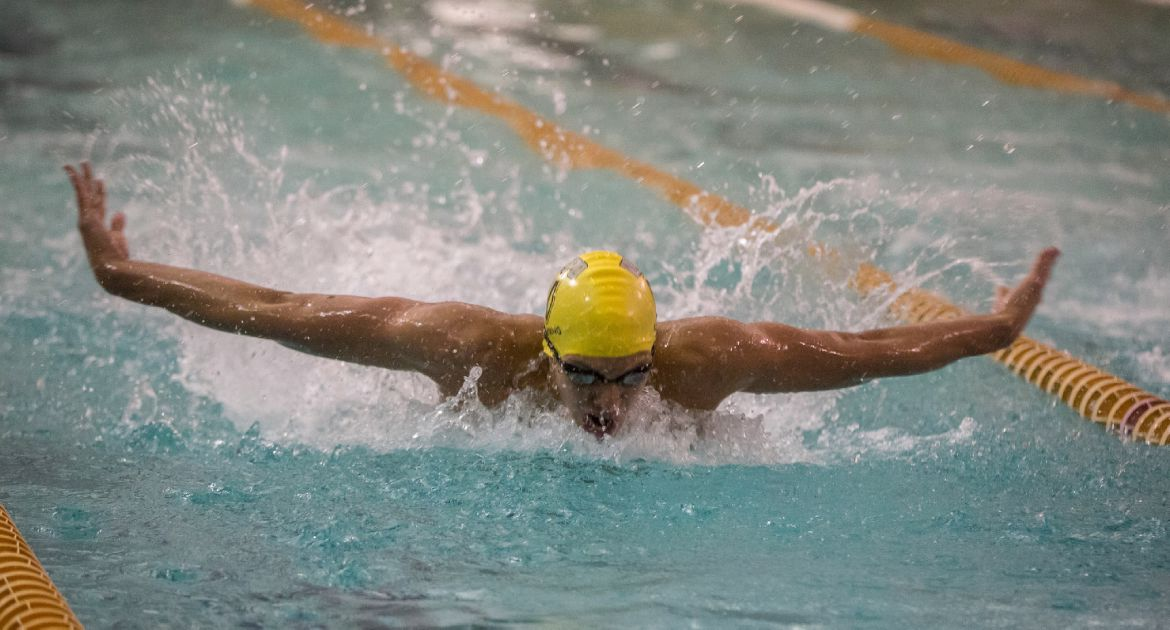 Crusader Swimming Competes at Indiana Intercollegiates
