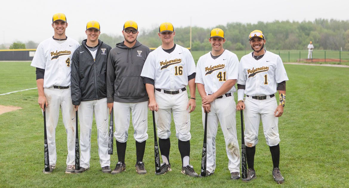 Crusaders Recover to Earn DH Split on Senior Day