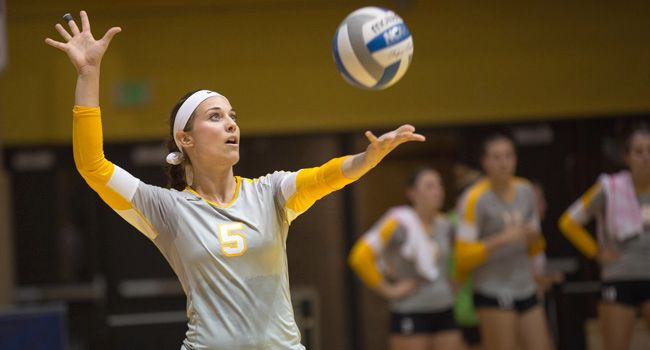Volleyball Set for Start of Horizon League Play