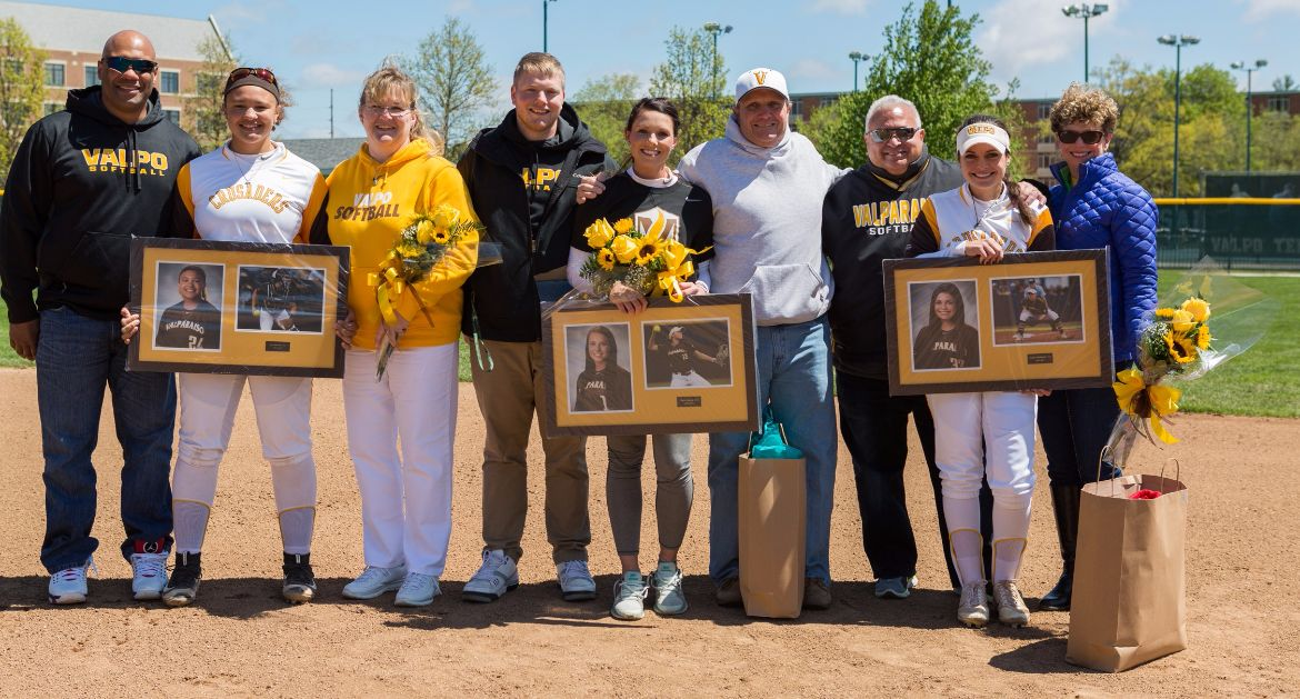 Crusaders Sweep Wright State on Senior Day