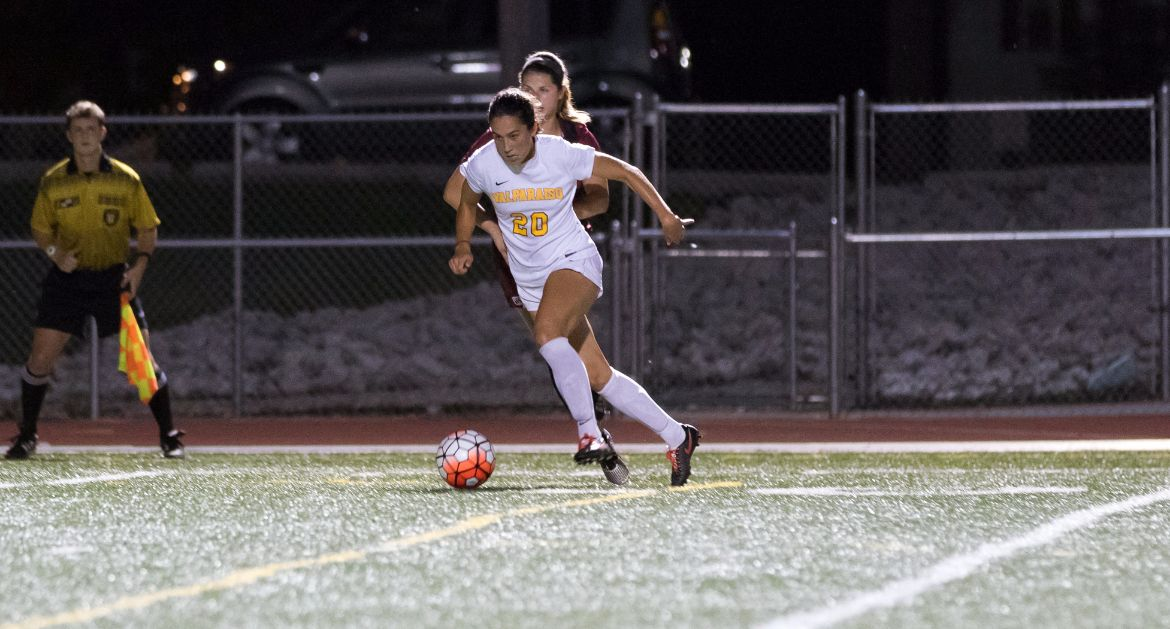Cronin's Hat Trick Gives Valpo Overtime Win Over Loyola